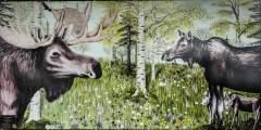 """""""Moose Meadow"""" by Abigail Ward"""