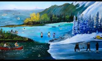 All In A Great Weekend Mural 4 alaska untitled