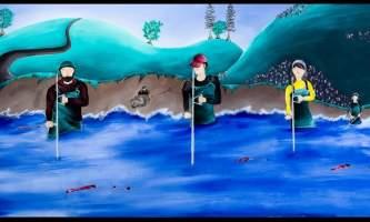 Kenai Shuffle Mural 3 alaska untitled