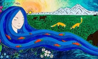 Mother Kenai Mural 2 alaska untitled