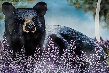 """Blue Bear"" by Amanda Ritchie"