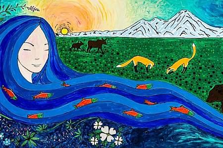 """Mother Kenai"" by Amy Kruse"