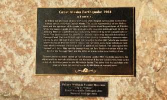 Earthquake Monument Ted Spencer alaska whitter