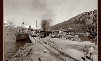 1943 Whittier 20x30 alaska whittier historic walking tour ted spencer wings over alaska