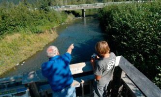 Williwaw fishing platform Williwaw Cground RSK 002 Alaska Channel
