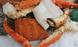 Steve Zernia Dinner for Two package 02 alaska captain jacks seafood locker