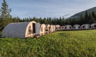 Alaska bear camp Great Alaska Bearcamp tents in sun great alaska bear camp