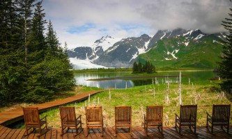 Kenai Fjords Glacier Lodge kfgl deck2019