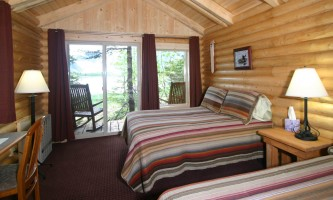 Kenai Fjords Glacier Lodge kfgl cabin int2019
