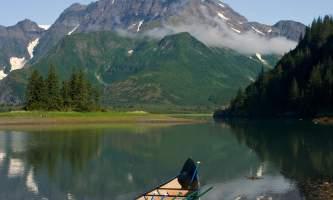 Kenai Fjords Glacier Lodge Pedersen Canoe2019