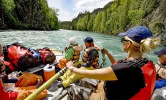 2021 6 Rafting the Kenai River
