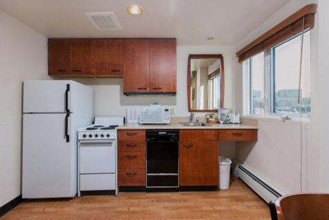 You'll feel at home in suites that feature a full kitchen with dishwasher, refrigerator, and microwave