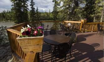 Denali park village Outdoor Deck