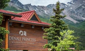 Denali princess wilderness lodge Exterior Denali Princess exterior sign dpl 222019