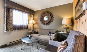 Room Living area in guest room at Mc Kinley Chalet mc 12 alaska mckinley chalet resort denali princess
