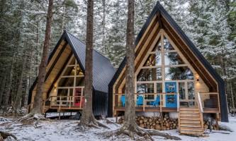 Salted roots kenai exterior both cabins