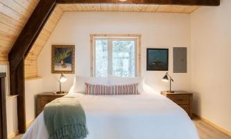 Salted roots kenai blue door master bedroom 1