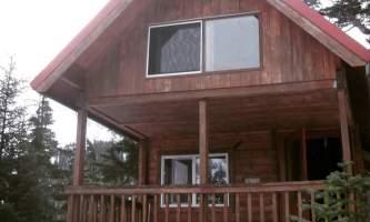 Jake Borst Power Creek Cabin Front
