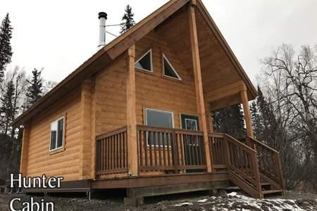 Hunter Cabin in Denali State Park