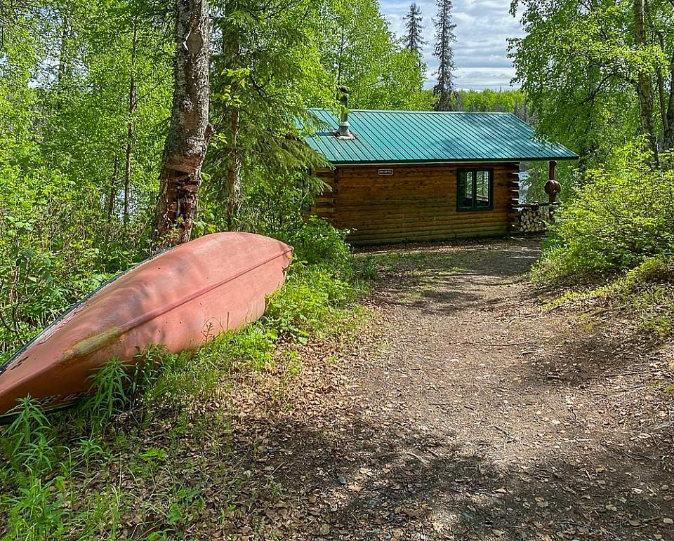 Rent a canoe and spend the day paddling the undeveloped shoreline of Bald Lake