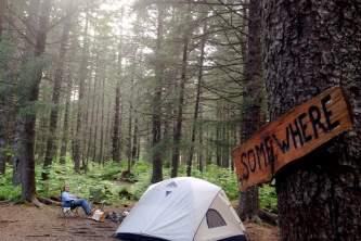 Alaska campingmillers landing campground jessica clark Jessica Clark