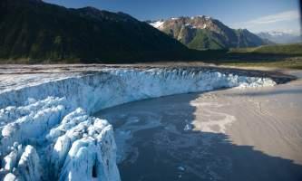 Alaska Childs Glacier Ron Niebrugge wildnatureimages com glaciers