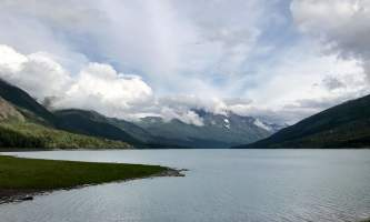 Alaska Eklutna Glacier glaciers