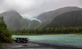 Alaska Middle glacier chugach national forest sandy wilson glaciers