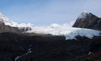 Alaska raven glacier girdwood william conklin glaciers