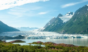 Alaska Spencer Glacier charles woodfin glaciers