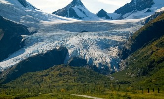 Alaska Worthington Glacier Alaska Channel Premier Motorcoach