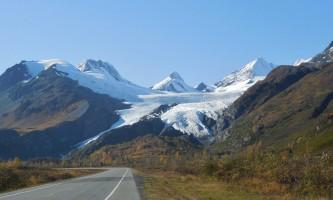 Alaska worthington glacier jeanne maughan richardson highway glaciers