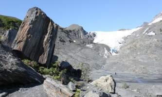 Alaska worthington glacier valdez karen biddle glaciers