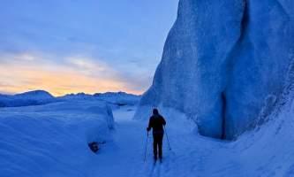 Valdez Glacier Lake Winter image0 alaska Anadyr Adventures