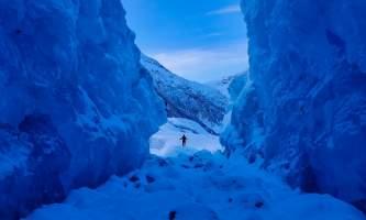 Valdez Glacier Lake Winter image1 alaska Anadyr Adventures