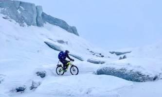 Valdez Glacier Lake Winter image2 alaska Anadyr Adventures