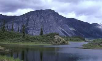 Alaska Lake Near Sheenjek River Alaska Channel From Web OK To Use