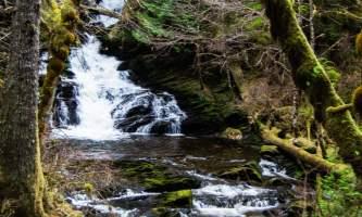 Lunch falls ketchikan 1 Lunch Creek Falls lunch falls trail