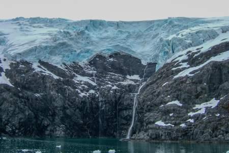 Northland Glacier Falls