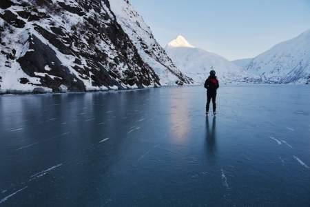 Ice Skating, Skiing & More at Portage Glacier