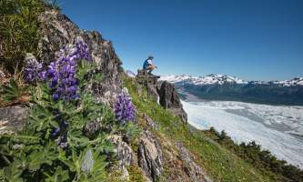 Sheridan Glacier Ridge Trail R HIKE 0104 HR