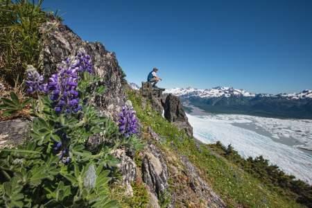 Sheridan Glacier & Mt. Trailhead