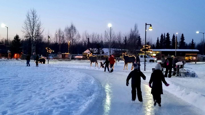 Visit Soldotna Creek Park in the winter