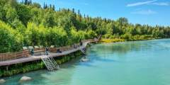 Soldotna Public Fish Walks, Boardwalks, and Access Stairs