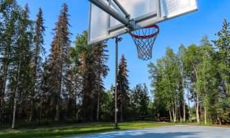 Laura Rhyner SCP basketball court alaska untitled