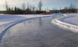 Laura Rhyner skating path alaska untitled