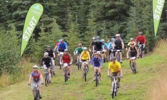 Jenny Neyman bike start alaska untitled