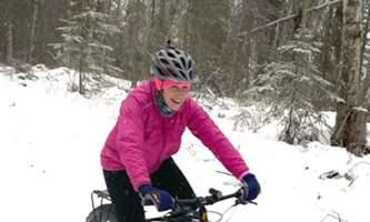 Jenny Neyman happy biker alaska untitled