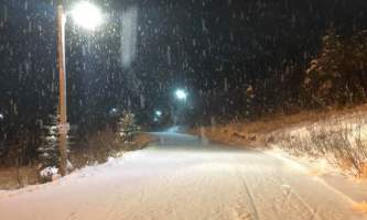 Jenny Neyman tta lights snow alaska untitled