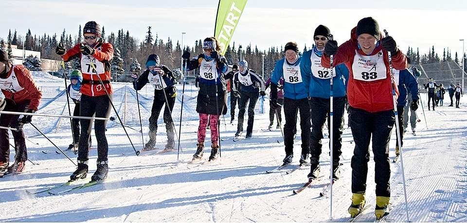 Jenny Neyman ski start alaska untitled